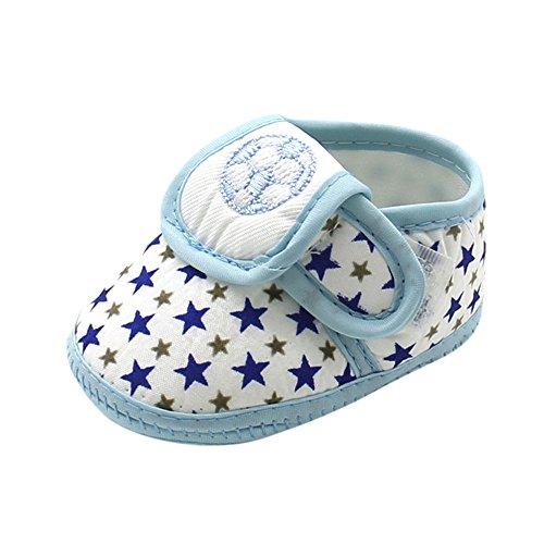 Styledress Kleinkindschuhe Männer und Frauen Babyschuhe 0-12 Monate alt Indoor Soft Sohle Babyschuhe rutschfest