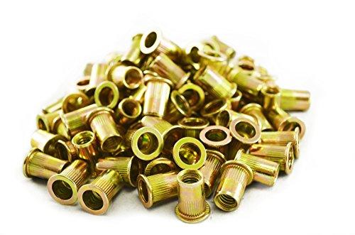 Astro Pneumatic Tool RN516 100-Piece 5/16-18 Steel Rivet Nuts