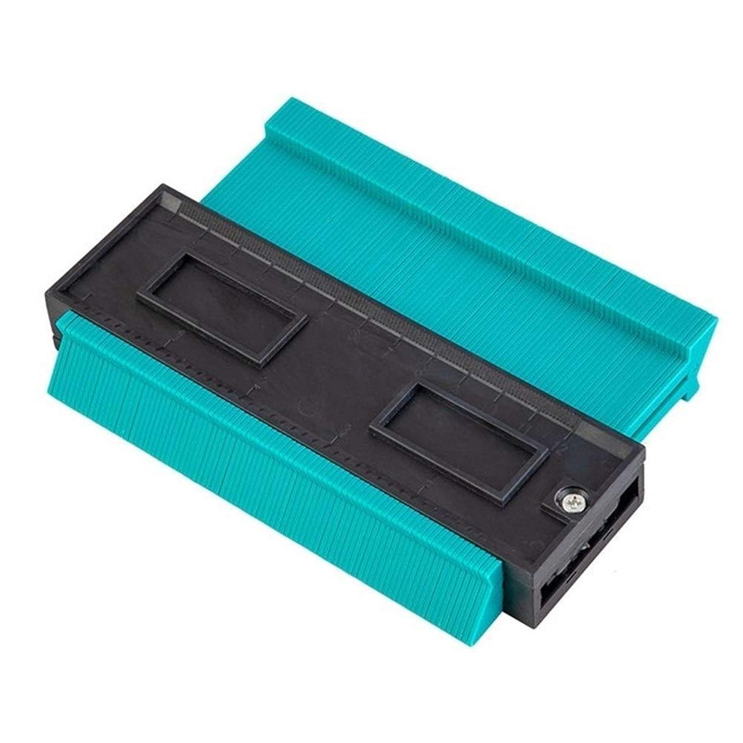切手巻き取り部門GSMLS 13センチメートル輪郭ゲージユニバーサルツールルーラー不規則な外形を測定ラジアンコピー定規カーペンター定規図面テンプレート (Color : 13cm blue)
