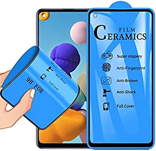 Screen Protector Foils for Samsung Galaxy A21s 2.5D Full Glue Full Cover Ceramics Film Mobile Communication Accessories
