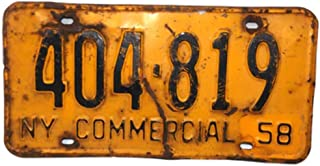 Best 1958 new york license plates Reviews