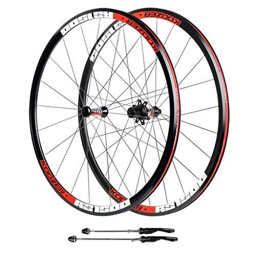ZNND Rueda para Bicicletas 700C Aleación De Aluminio Pared Doble V Freno...
