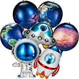 8 Pieces Galaxy Space Balloons Large Outer...