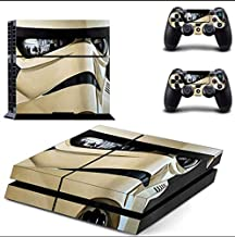 PS4 Pro Skin - Slim skins sticker - Star Wars Darth Vader PS4 Skin Sticker Decal for Sony PlayStation 4 Console and 2 Controller Skin PS4 Sticker Vinyl Accessory - Type A28