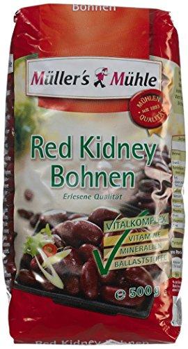 Müller's Mühle Red Kidney Bohnen, 7er Pack (7 x 500 g)