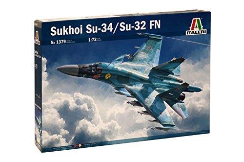 Italeri 1379 - Sukhoi Su-34 / Su-32 Fn Model Kit  Scala 1:72