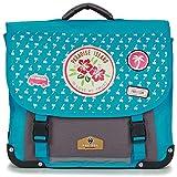 rentrée des classes POL Fox Paradise Island CARTABLE 38 cm Messenger Bags Girls Blue/Grey - One Size - Satchels