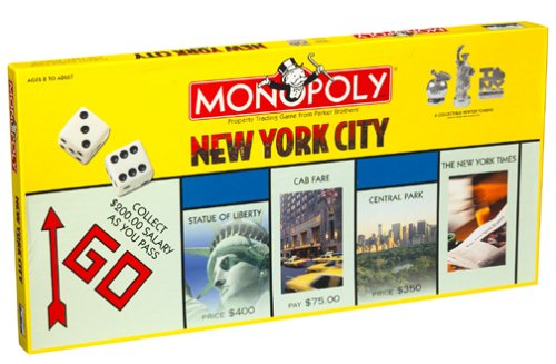 USAOPOLY New York City Monopoly Game