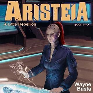 Aristeia audiobook cover art