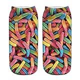 Tosonse Calcetines De Trabajo Casual Para Negocios 3D Cute Printing Medium Sports Mujer Cute Socks Unisex Womens Socks