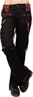 U/A Cargo Pantaloni A Vita Alta Nero Streetwear Punk Goth Pantaloni Delle Donne Pantaloni Casual Pantaloni Lunghi