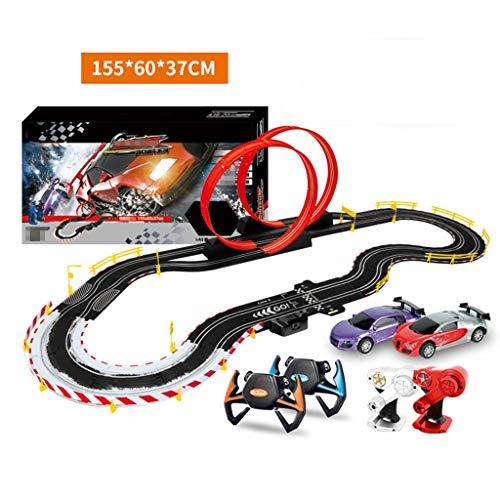 ZKW-Track 1: 43 Slot modelo de escala del coche de carril de la pista de coches de control remoto eléctrico Boy pista de coches de empalme for la Educación de pista unión de bloques de regalos de cump