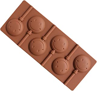 MENGMA Creative Smiley Face Baking Silicone Mold Chocolate DIY Hand-Baked Cake Mould