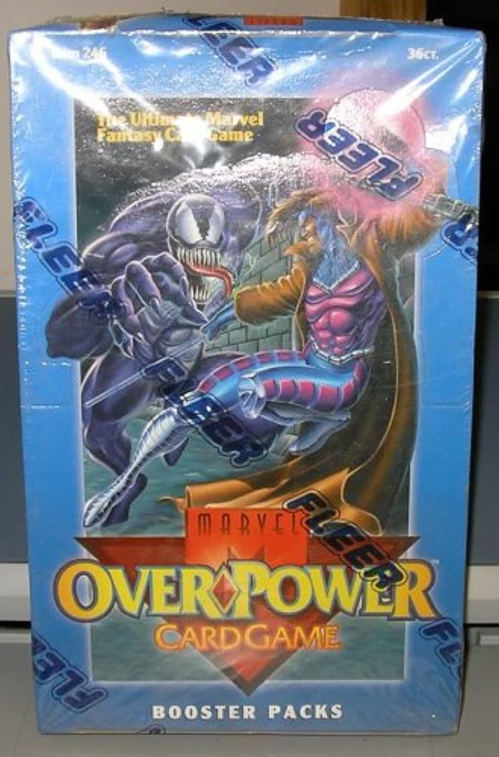 Overpower Trading Card Game Marvel Base Set Booster Box 36 Packs [Toy]
