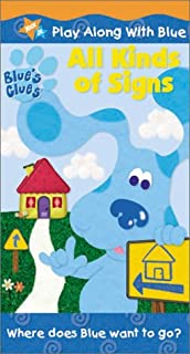 Blue's Clues - All Kinds of Signs VHS