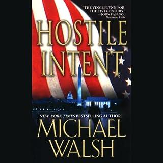 Hostile Intent  audiobook cover art