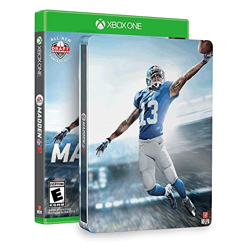Madden NFL 16 & SteelBook (Amazon Exclusive) - Xbox One [video game]