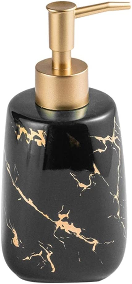 New life SELLONWANELO Hand Soap Dispenser Pump Marble Lotion Black Bottle All items free shipping