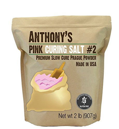 Anthony's Pink Curing Salt No.2, 2lbs, Slow Cure Prague...