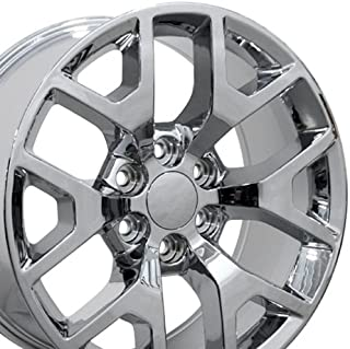 Best 20 inch chevrolet snowflake wheels Reviews