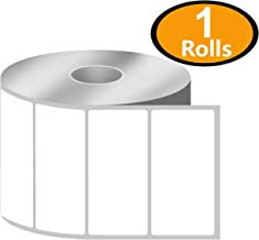 "BETCKEY - 3"" x 1.5"" Barcode Shipping & Address Labels Compatible with Zebra & Rollo Label Printer,Premium Adhesive & Perforated[1 Rolls, 950 Labels]"