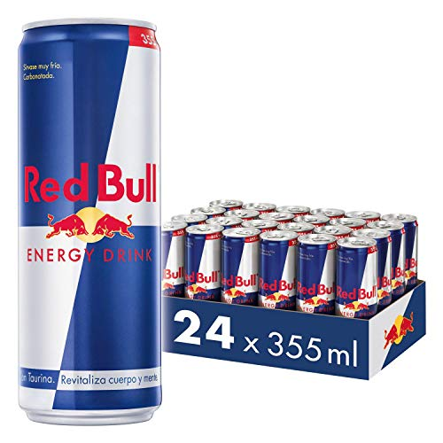 Red Bull Bebida Energética, Regular – 24 latas de 355ml - Total 8520ml