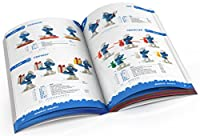 the SMURFS Official Collector's Guide スマーフPVCのカタログ本 2013年版