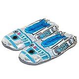 Star Wars R2-D2 Iridescent Slipper Socks -S/M
