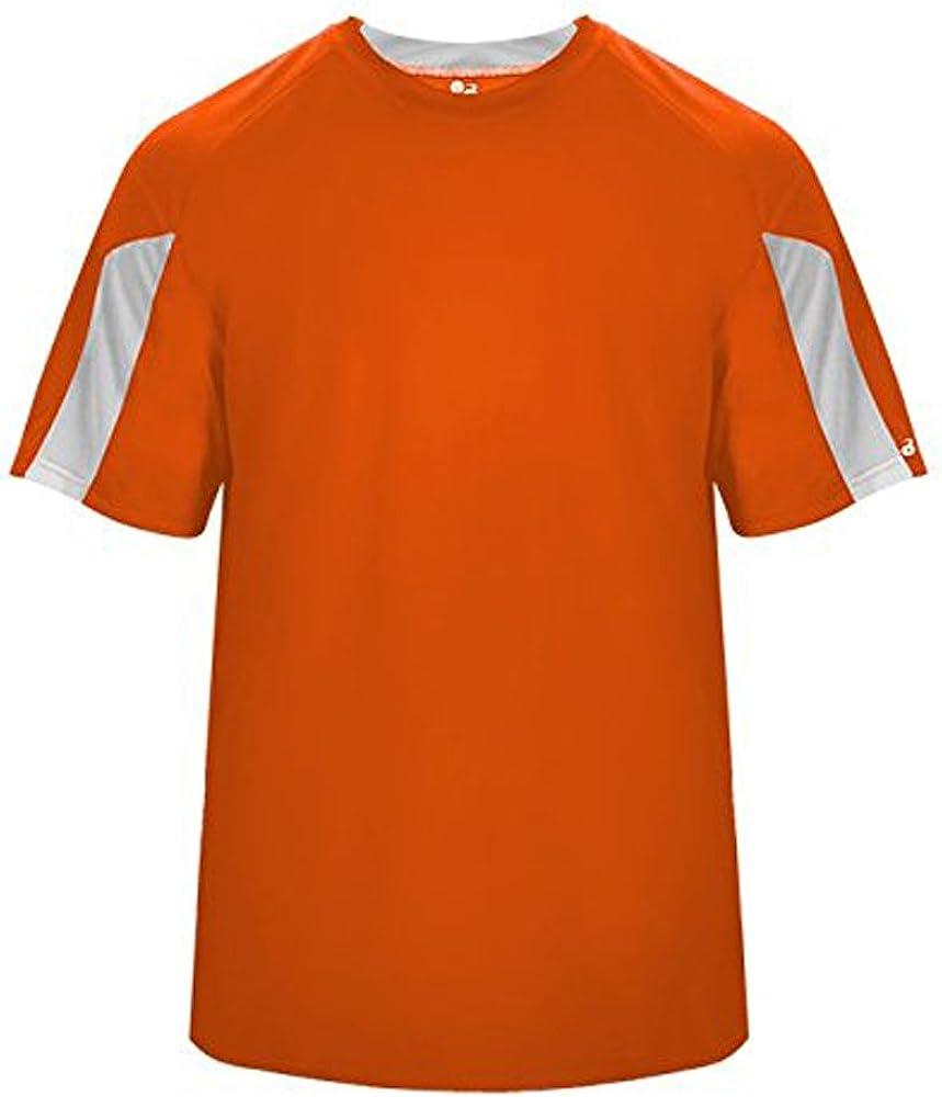 Striker T-Shirt - XS / Burnt Orange/ White