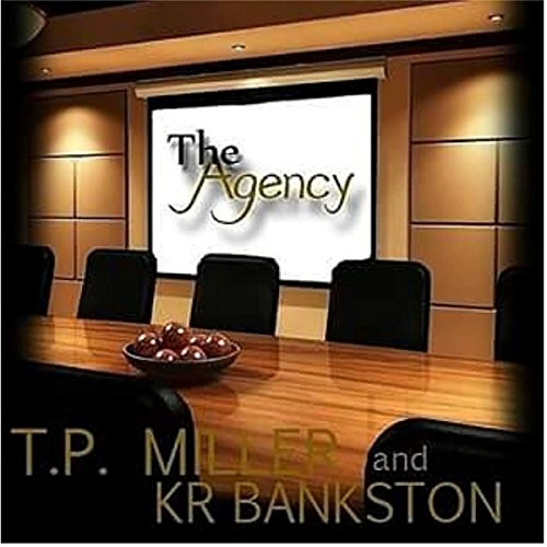 The Agency audiobook cover art