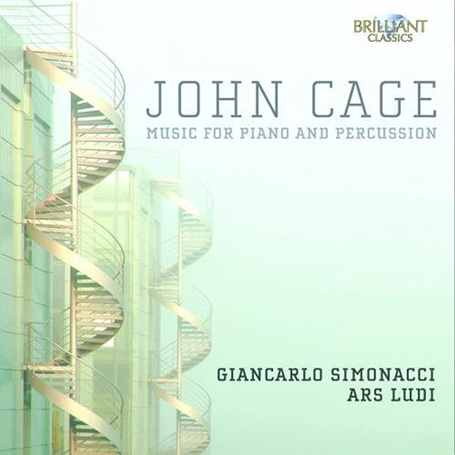 John Cage: Music For Piano And Percussion by Giancarlo Simonacci (2014-06-24)