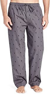 Men's Multi Pony Pajama Lounge Pants (Medium, Andover Grey)