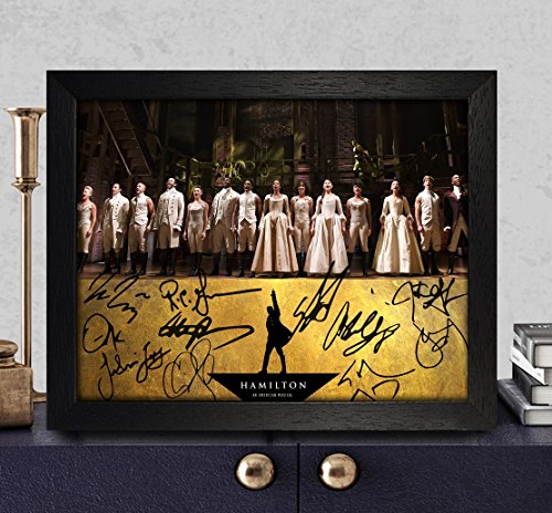Hamilton Broadway Signed Autographed Photo 8X10 Reprint Rp Pp
