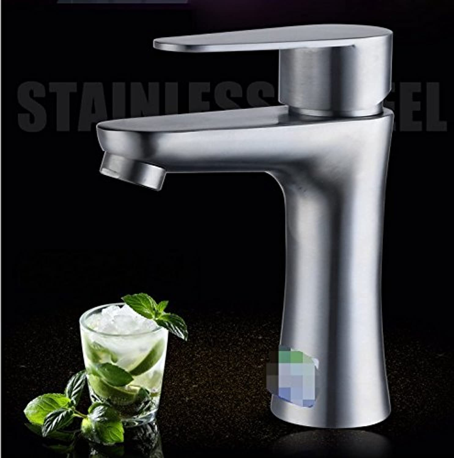 GBHNJ Taps Bathroom Basin Hot And Cold Single Hole Single Handle Sink Mixer