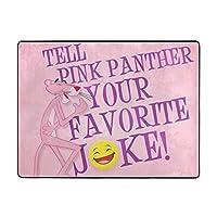 ピンクパンサー4 カーペット オールシーズン 肌触りが柔らかい ふわふわ 滑り止め付 おしゃれ かわいい ラグマット 120x160x1.2cm