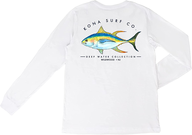 KONA SURF CO. Tuna Boys Long Sleeve Shirt