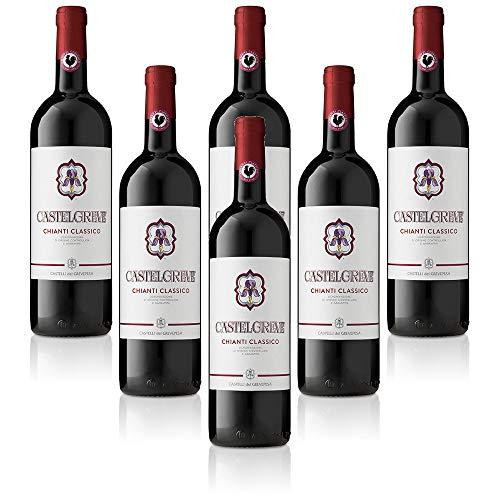 Chianti Classico DOCG Castelgreve Castelli del Grevepesa Castelgreve Vino Rosso italiano (6 bottiglie cl. 75)
