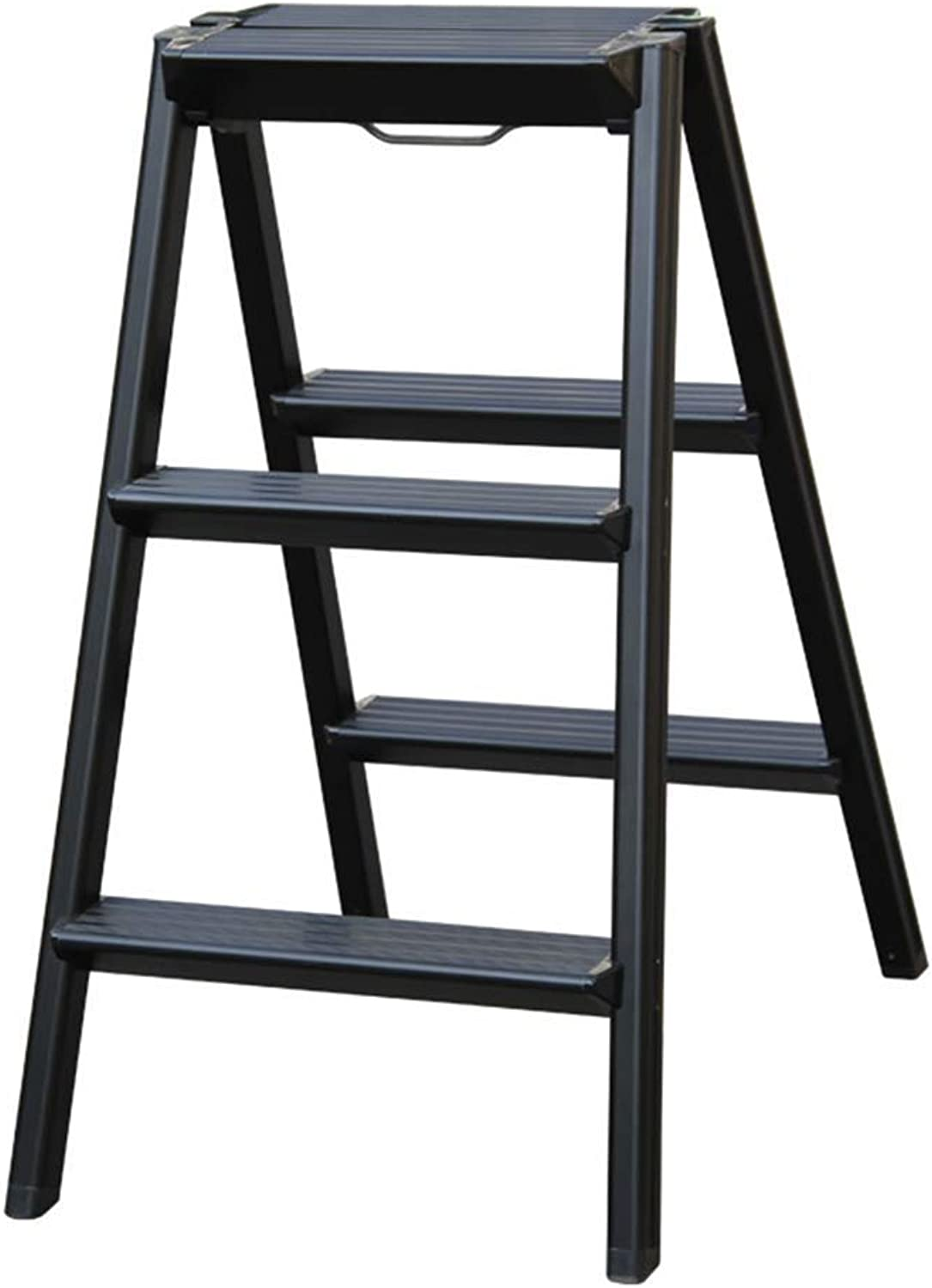 SCBED Aluminum Folding Ladder for Home, Staircase Small Ladder Ladder Staircase Ladder Multi-Purpose Staircase Creative Portable Stool Stairs