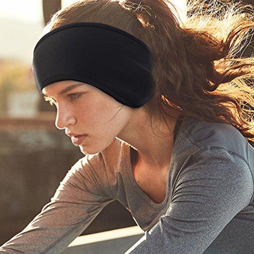 Tbest Oor Muff Hoofdband, Unisex Outdoor Sport Haarband Winter Fleece Oor Muff Warmer Hoofdband Oor Warmer Band Houd U Warm en Gezellig voor Dagelijks Weer, Sport, Hardlopen en Meer