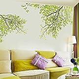 Ouneed Wandaufkleber Wandtattoo Wandsticker , Natur Blätter Home Haushalt Zimmer Wandaufkleber Mural Decor Decal Removable Neu