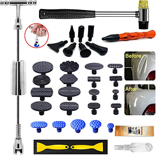 Manelord Auto Body Dent Puller - Dent Repair kit with Slide Hammer T bar...