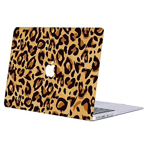 AJYX Case per MacBook PRO 13 2016/2017/2018, Custodia Protettiva Rigida per Nuovo MacBook PRO 13' A1706 / A1708 (con e Senza Touch Bar, Uscita 2016 & 2017) - R837 Leopardo