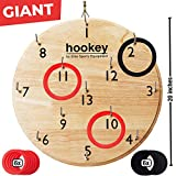 Elite Sportz Gifts for Men, Teens and Safe Games for Kids - Our Beautifully Finished Hookey Games Make Great for All. Easy Set-Up, Simply Hang and Play (Giant-20 Inches)