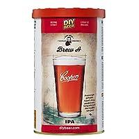 Coopers Kit de brassage de bière IPA à faire soi-même, extrait de brassage, pour obtenir 6 litres de bière artisanale délicieuse. Cette bière IPA de style américain est fabriqué dans la tradition de cette bière blonde. Plein corps avec des teintes am...