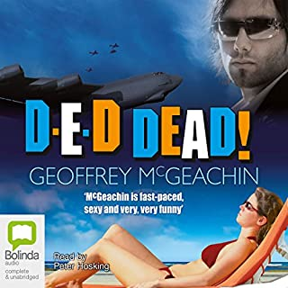 D-E-D Dead! audiobook cover art