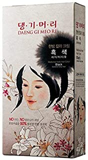 Daeng Gi Meo Ri Medicinal Herb Hair Color (No Ammonia & No PPD) (Black)