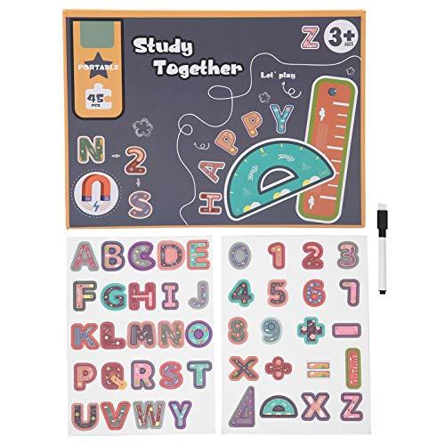Magnetische Puzzles, Alphabet DIY Magnet Puzzles 3D Puzzle Set Magnetische Puzzlespiele Spielzeug Intelligentes Gehirntrainingsspiel(Magnetic Puzzles)