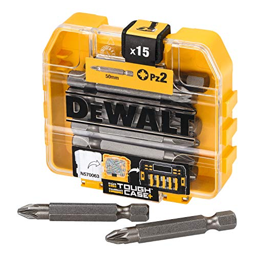 Dewalt DT7912 Pack de 15 puntas PZ2