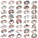 #w19_ Set of 40 Ring wax patterns for lost wax casting Jewelry/jewelry waxes