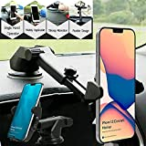 CEUTA® Windscreen Car Phone Mount, Windshield Mobile Phone Holder, Universal Dashboard Car Cradle...